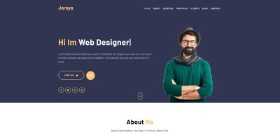 Jaraya - Personal Portfolio Template