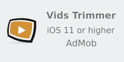 Vids Trimmer - iOS Source Code