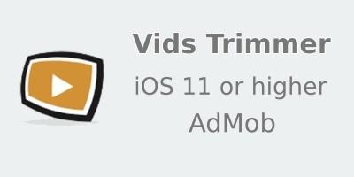 Vids Trimmer - iOS Source Code