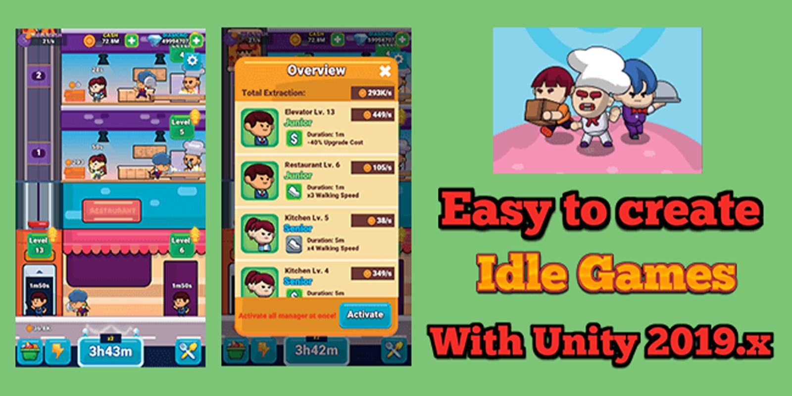 Idle Restaurant - Unity Source Code