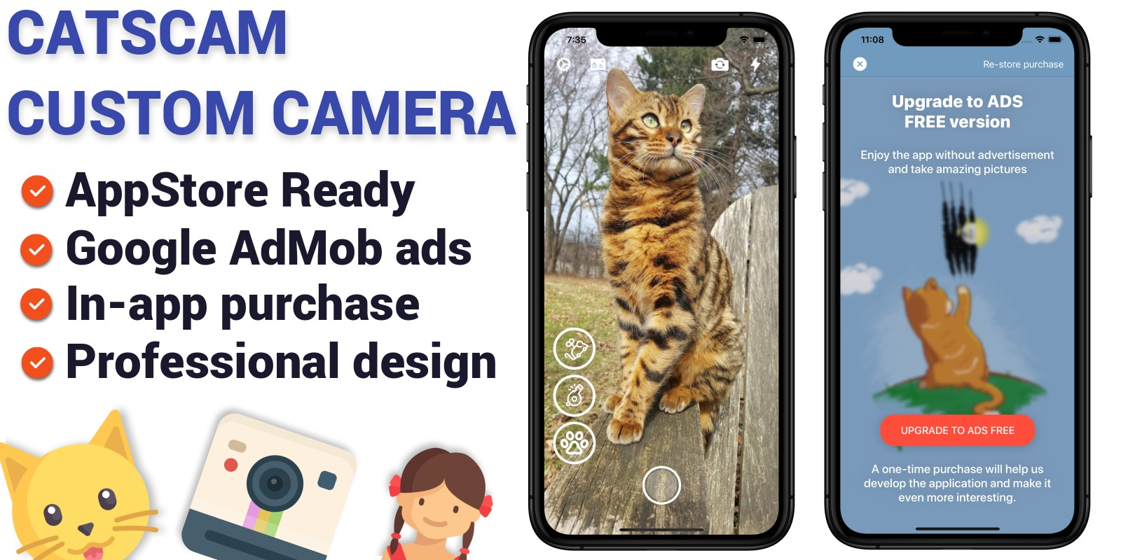 CatsCam - iOS Custom Camera Source Code