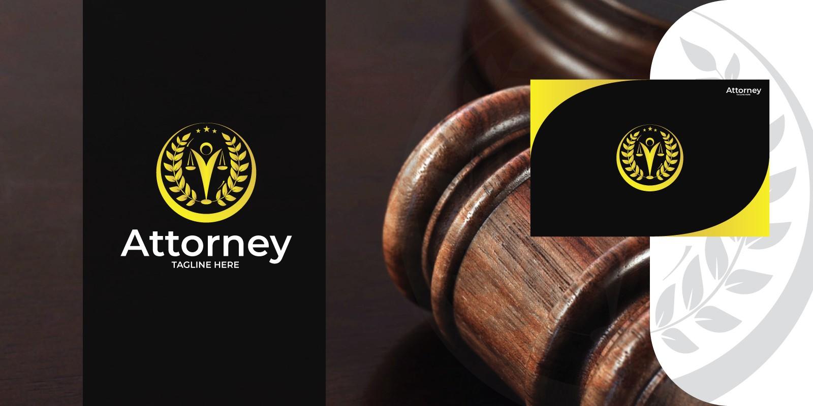 Attorney Logo Template