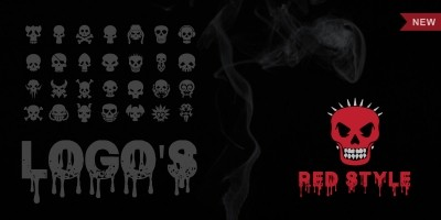 Skull Logo Templates