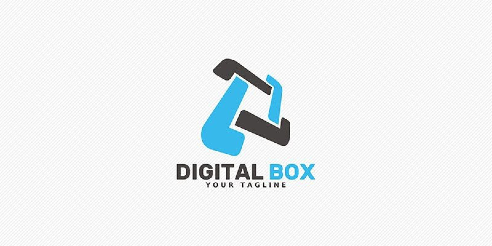 Digital Box - Logo Template