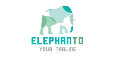 Elephant Vector Logo Design