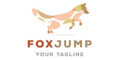 Fox Shape Logo Design