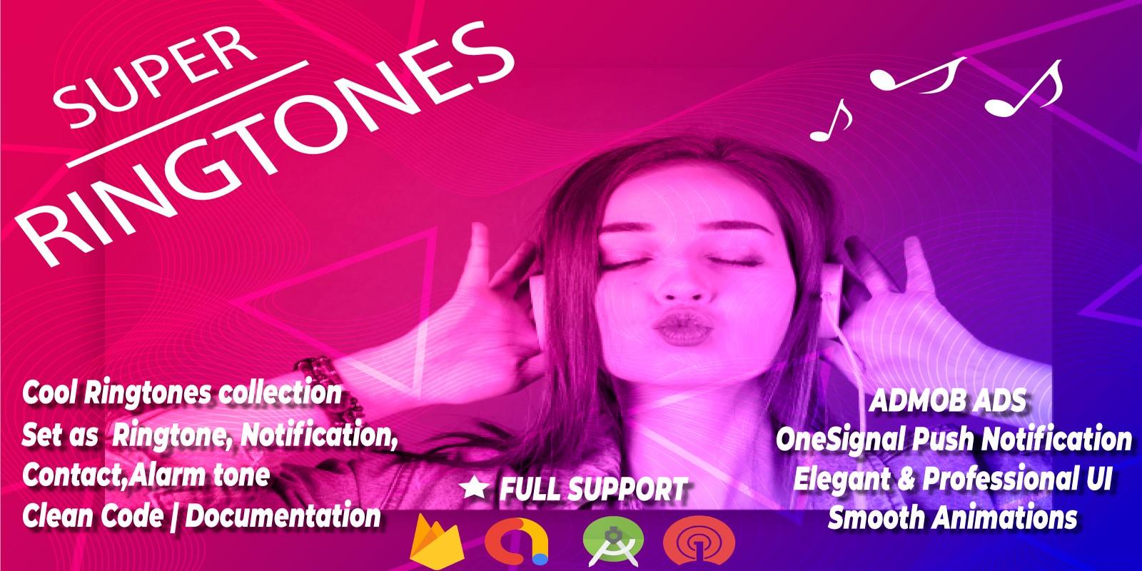 Super Ringtones - Android Source Code