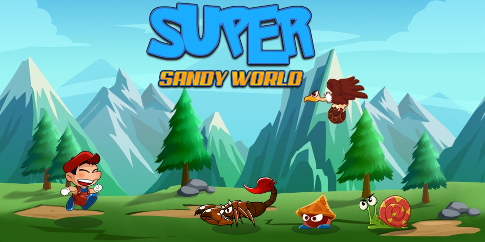 Super Sandy World Complete Unity Game