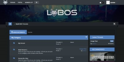Lobos - MyBB Responsive Theme