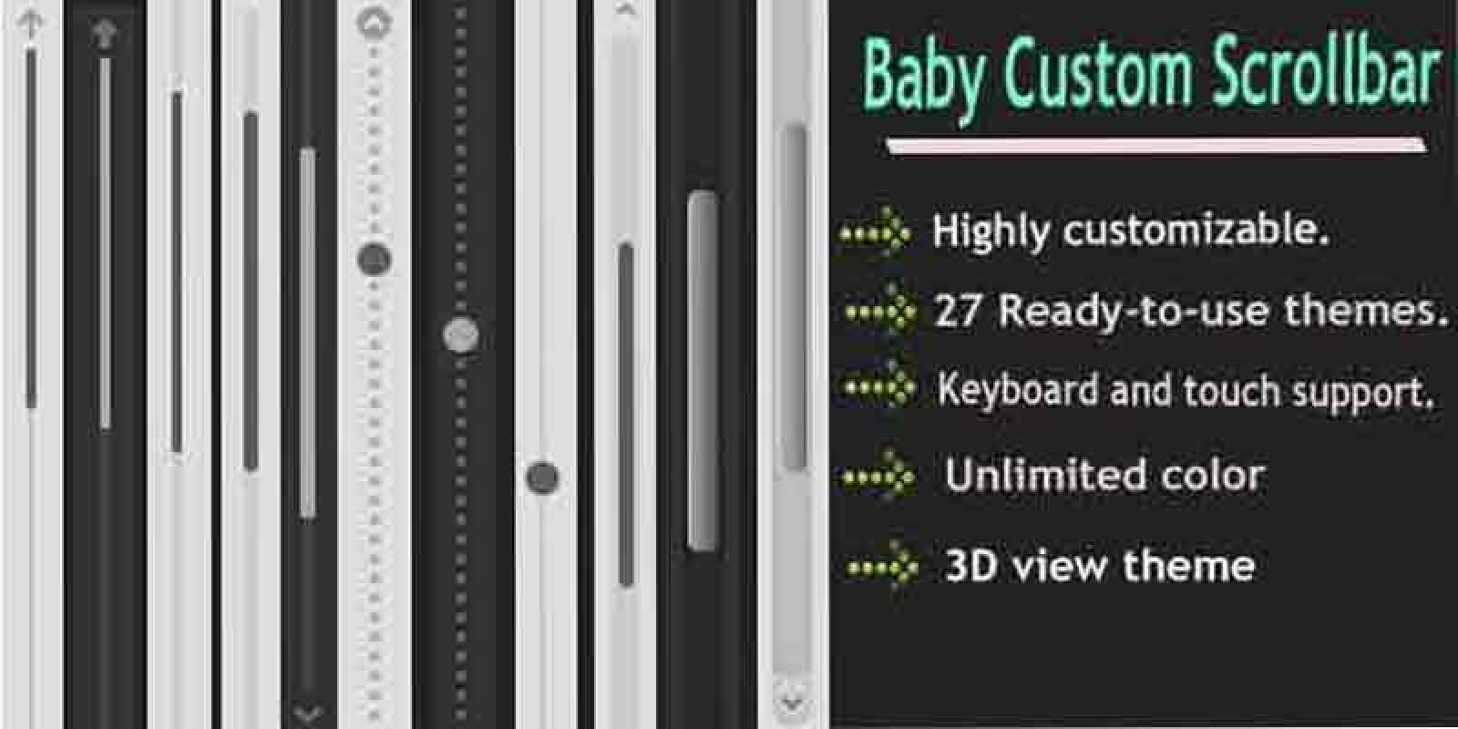 Baby Custom Scrollbar - WordPress Plugin