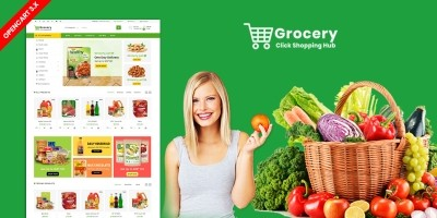 Grocery Opencart eCommerce Theme