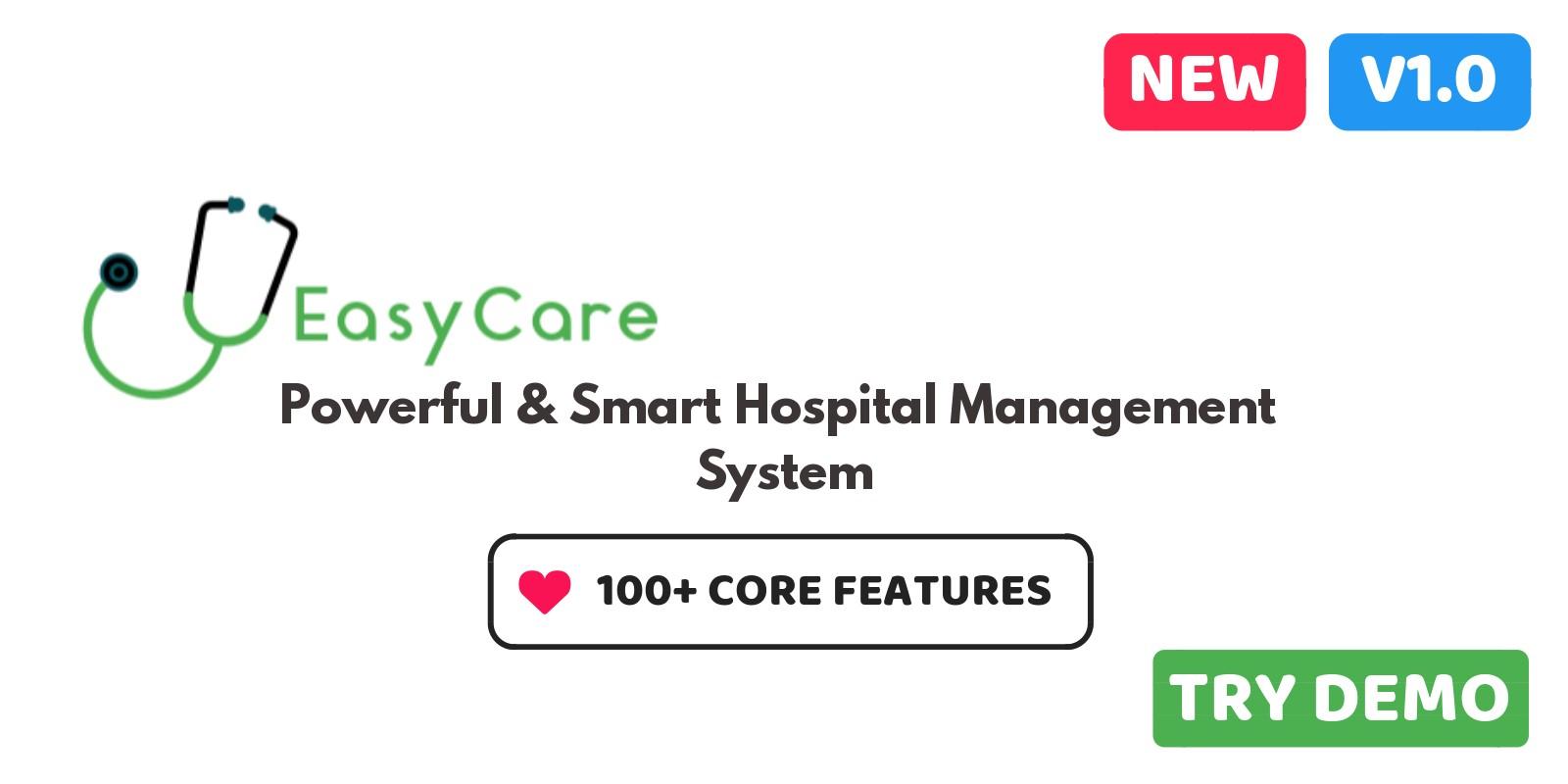 EasyCare Hospital ERP