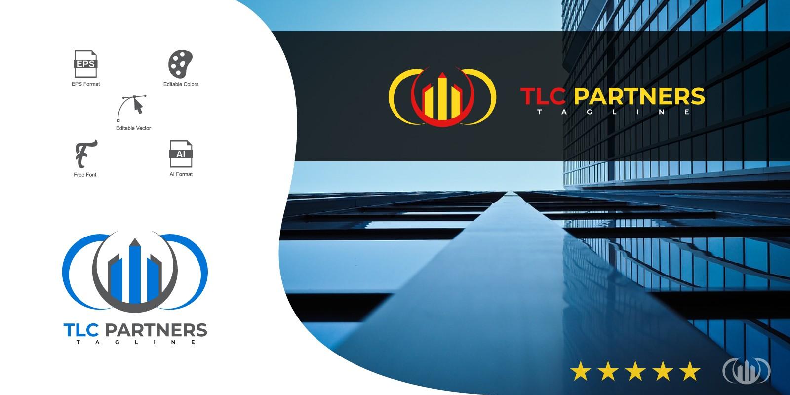 TLC Partners Logo Template