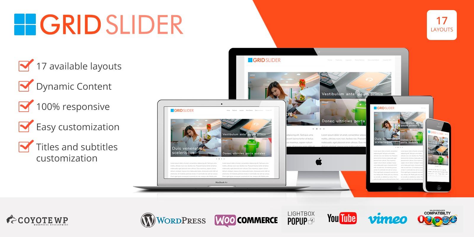 Grid Slider WordPress Plugin