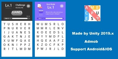 Word Game Pro Unity Project