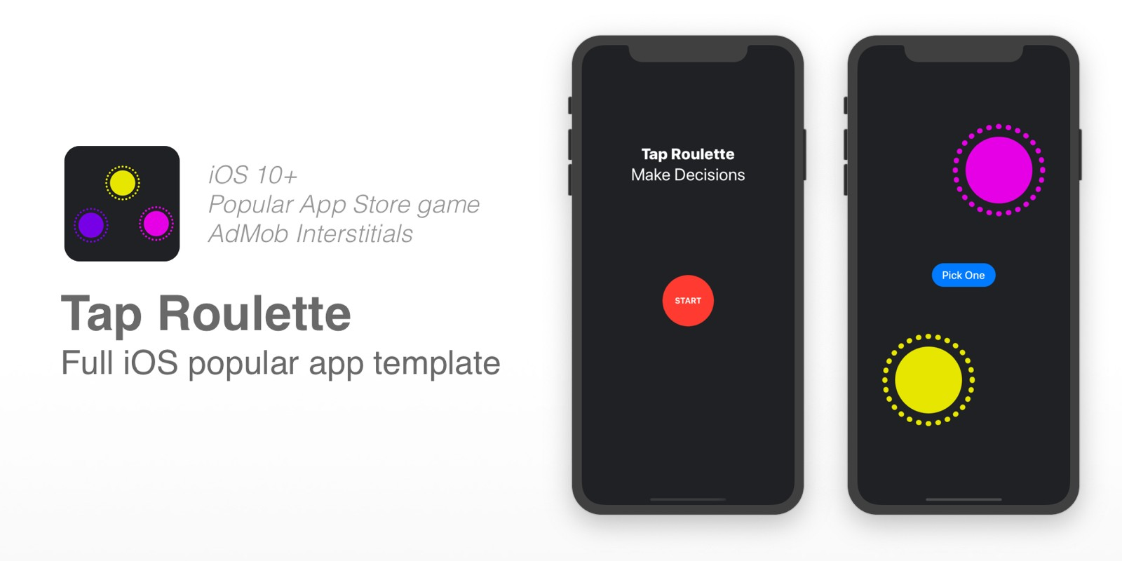 Tap Roulette - iOS Game Template