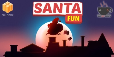 Santa Fun - Full Buildbox Game