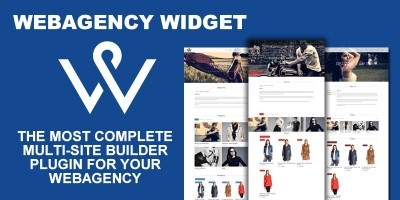 Webagency Widget - WordPress Multi-Website Builder