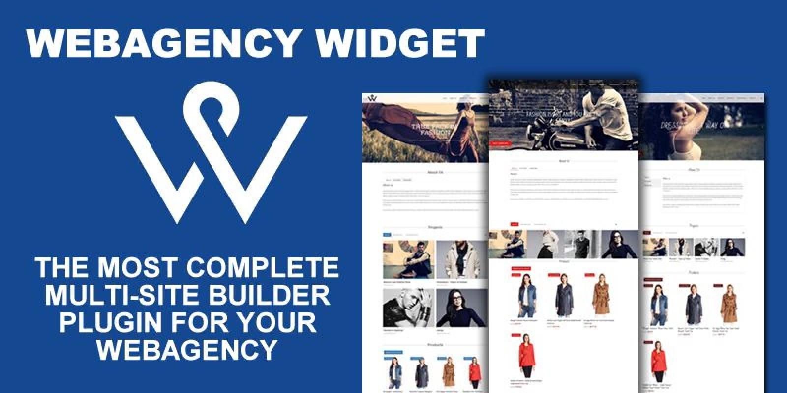 Webagency Widget - WordPress Multi-Website Builder