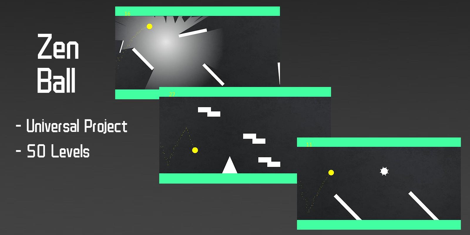 Zen Ball - Buildbox Template