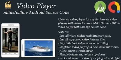 Video Player - Android App Template