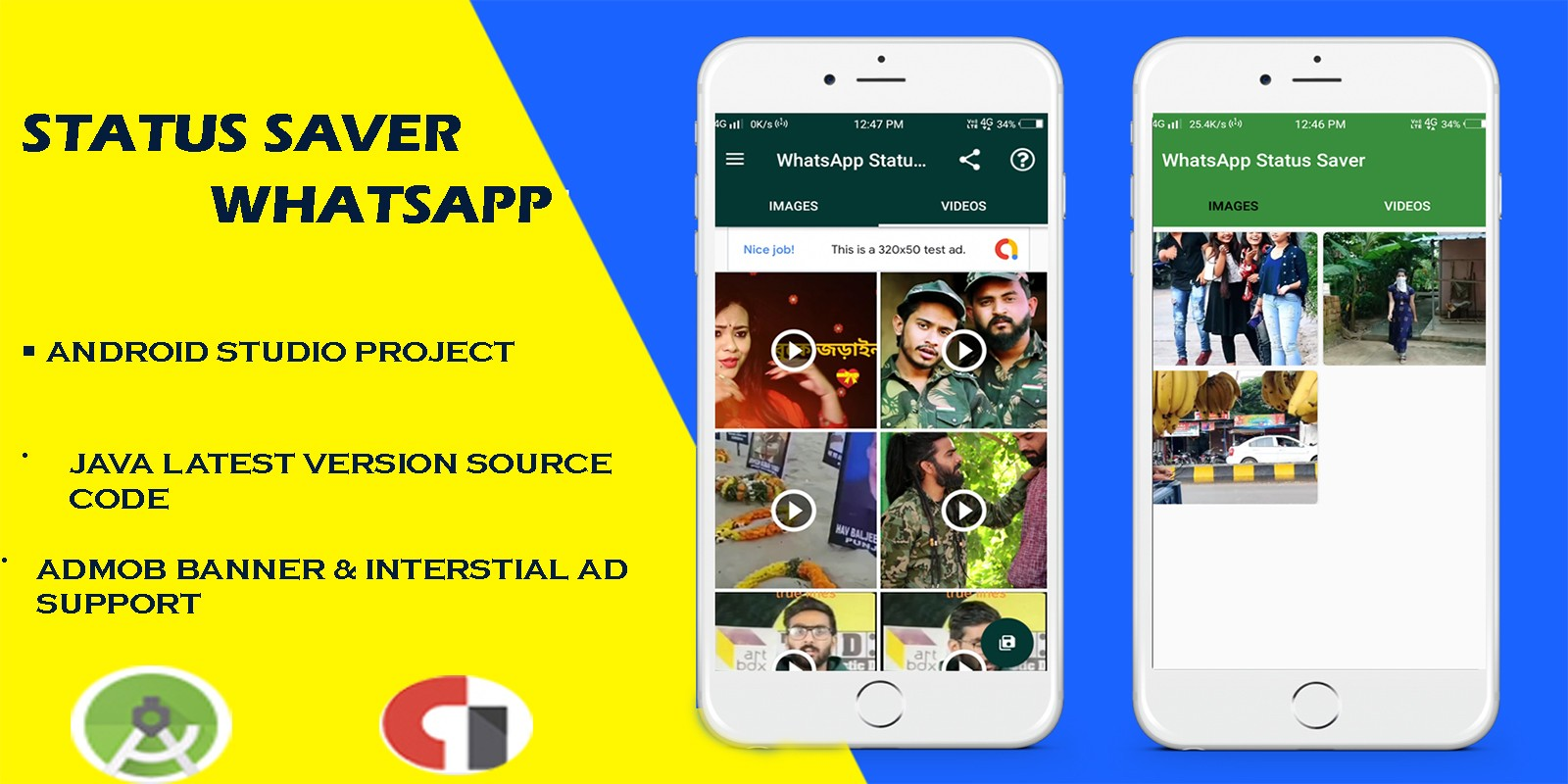 Status Saver Whatsapp Android App Template
