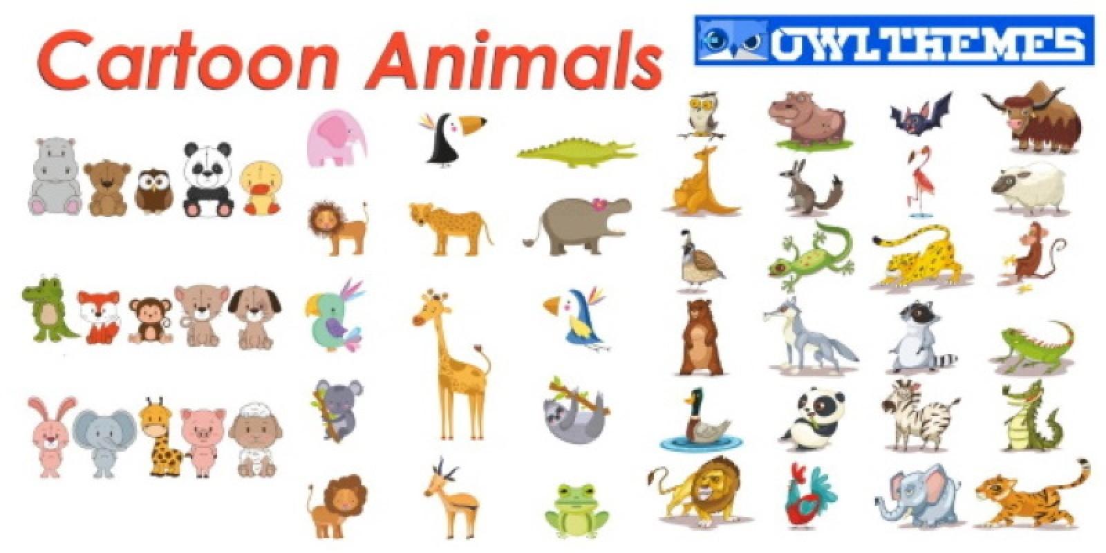 Animal Cartoon Graphics