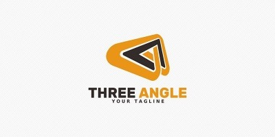 Three Angle - Logo Template