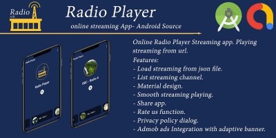 Radio Player - Android App Template