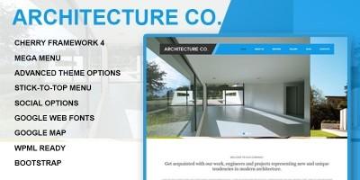 Architecture Company - Wordpress Architecture Them