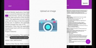 OCR Scanner - Image To Text Android App