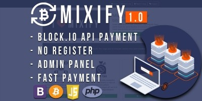 Mixify - Bitcoin Mixer PHP Script