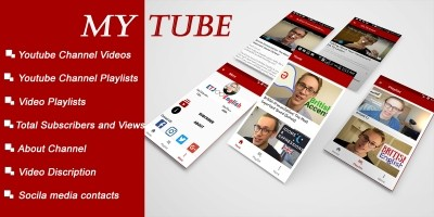 MyTube - Android App Template