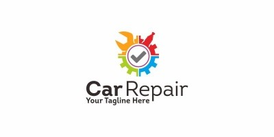 Car Repair - Logo Template