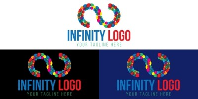 Infinity Logo Design Template