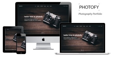 Photofy - Photography  HTML5 Template