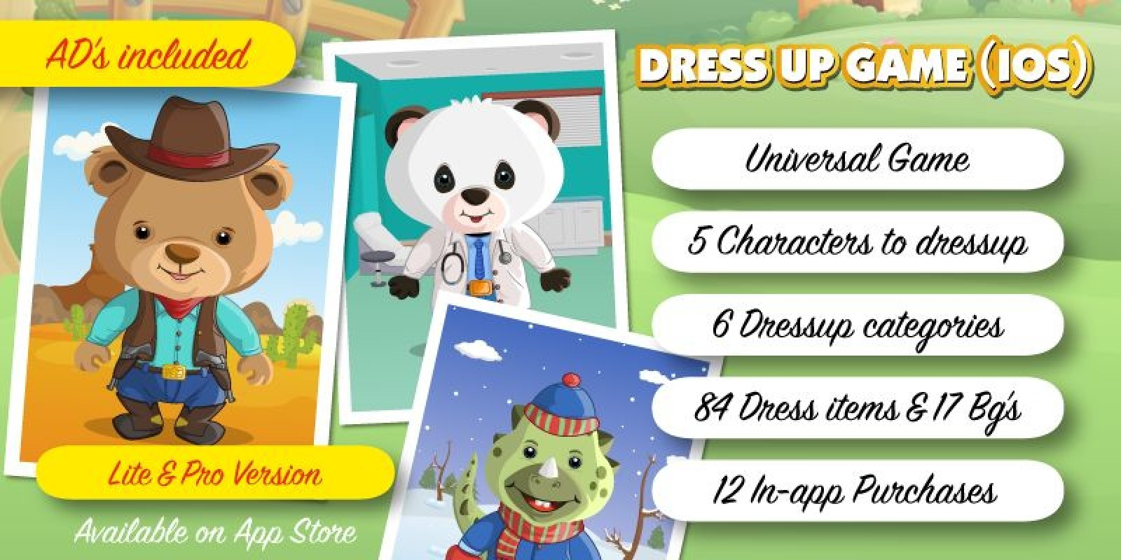 Dress up Game - iOS App Source Code