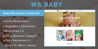 WS Baby - Baby Store WooCommerce Theme