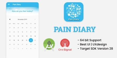 Medical Pain Diary - Android App Template