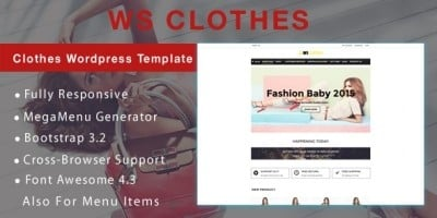 WS Clothes – Fashion WooCommerce Theme