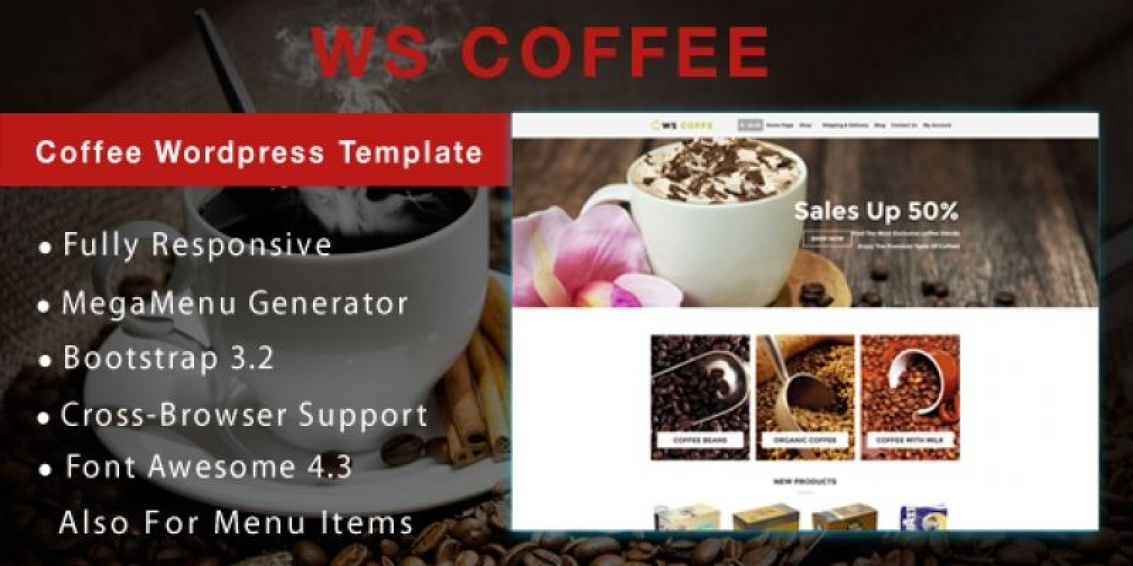 WS Coffee – Cafe Shop Woocommerce Theme