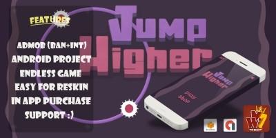 Jump Higher - Buildbox Template