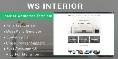WS Interior - Interior WooCommerce Theme