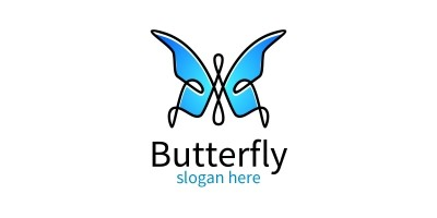 Butterfly Colors Logo 12