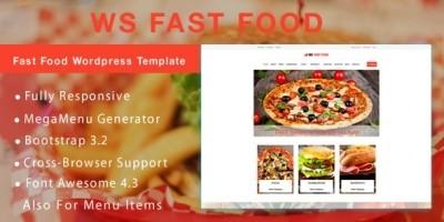 WS Fast Food – Food WooCommece Theme