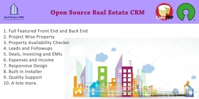 Real Estate CRM PHP Script