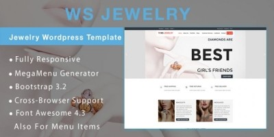 WS Jewelry –  Jewelry WooCommerce Theme