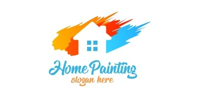 Real Estate Painting Logo