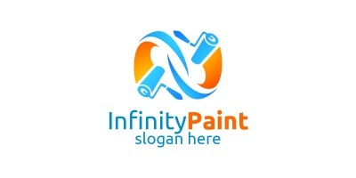 Home Painting Vector Logo