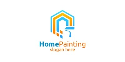 Home Painting Vector Logo 2